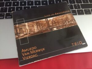 Jazz cd | Amuedo Vierdag Van Merwijk | Fresh Jazz Agency