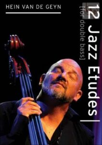 Boeken over Jazz | 12 Jazz Etudes for double bass | Fresh Jazz Agency