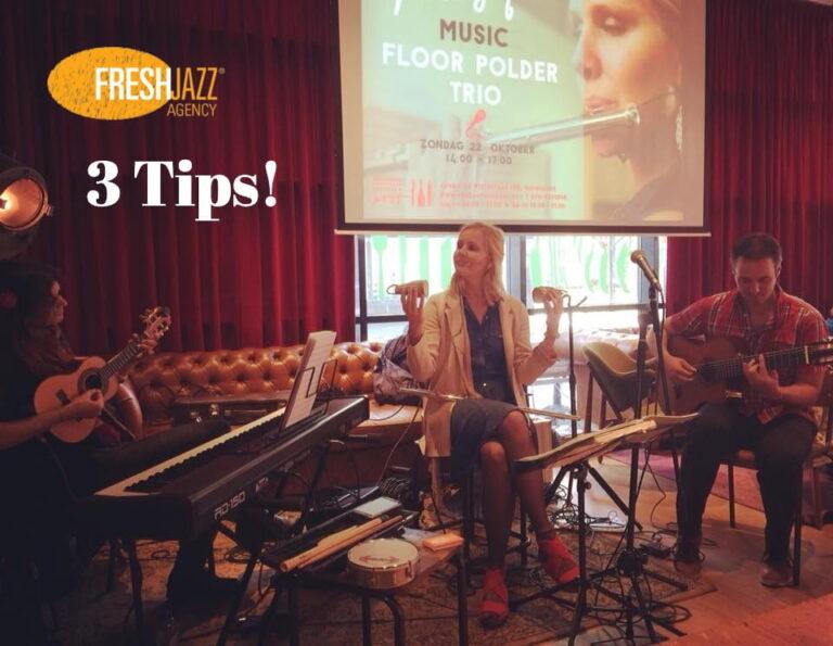 3 Tips voor het boeken van de perfecte Jazz Band