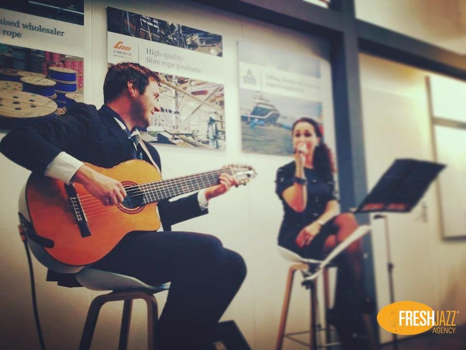 Jazz Duo met gitarist en zangeres