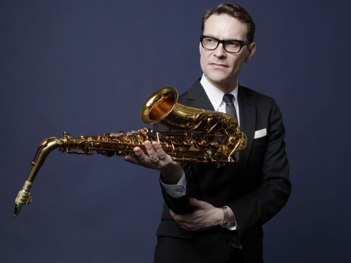 Jazz saxofonist Benjamin Herman