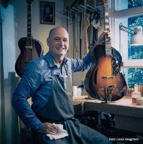 Jazz Gitaar Bouwer Wout Bosma