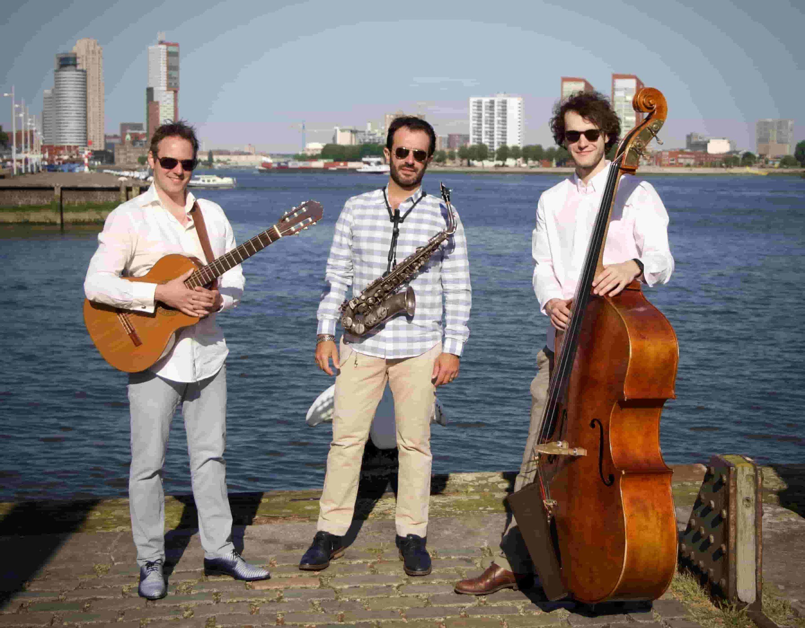 Jazz Trio Saxofoon Contrabas Gitaar | Fresh Jazz Agency