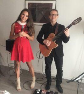 Kerst Jazz Duo Gitarist & Zangeres Boeken? Fresh Jazz Agency